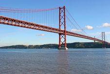 Free Lisbon Bridge Stock Photography - 1946002