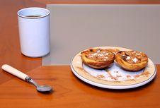 Free Simple Breakfast Royalty Free Stock Photo - 1946155