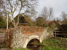 Free Brick And Flint Bridge Stock Images - 1947484