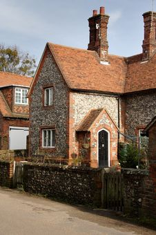 Free Brick And Flint Cottage Stock Photos - 1947603