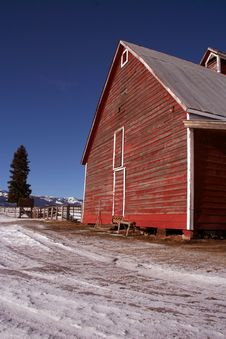 Free Little S Barn 3 Royalty Free Stock Photos - 1947668