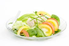 Free Spinach And Lettuce Salad Stock Photos - 1948133