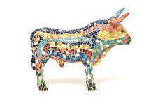 Spanish Bull Souvenir Royalty Free Stock Images