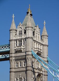 Free Tower Bridge Royalty Free Stock Image - 1949346