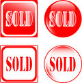 Free Real Estate Sold Sign Stock Photo - 19402620