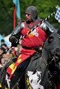 Free Medieval Knight On Horseback Stock Photo - 19403650
