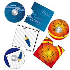 Free A Set Of CDs Stock Photography - 19400872