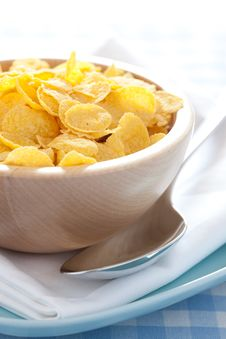Free Fresh Cornflakes Royalty Free Stock Photography - 19402057