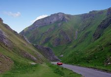 Free Winnats Pass Royalty Free Stock Image - 19403206