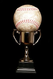 Free Trophy And Softball Stock Photography - 19403502