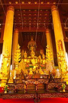 Free Arrange Of Buddha Image Stock Photography - 19405172
