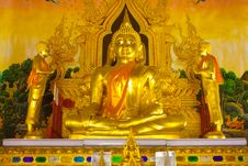 Free Buddha And  Disciples Images Stock Photography - 19405232