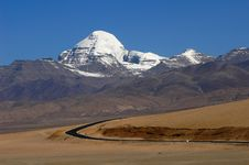 Free Landscape In Tibet Royalty Free Stock Photography - 19405237