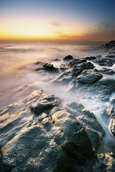 Free Beautiful Seascape. Royalty Free Stock Image - 19406026