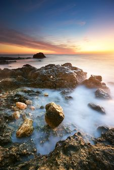 Free Beautiful Seascape. Royalty Free Stock Photography - 19406027
