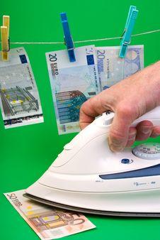 Free Money Laundering Royalty Free Stock Photos - 19406908