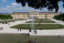 Free Schonbrunn Palace Royalty Free Stock Photography - 19407867