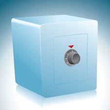 Metal Safe Box Stock Images