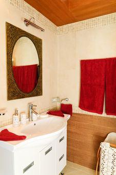 Free Bathroom Royalty Free Stock Photography - 19408387