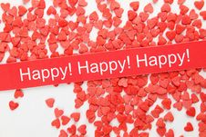 Free Background Of Red Hearts Stock Photos - 19408523