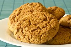 Free Oatmeal Cookies Royalty Free Stock Photos - 19408908