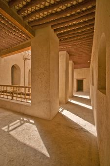 Rustaq Fort Stock Image
