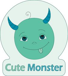 Free Cute Monster Stock Images - 19409334