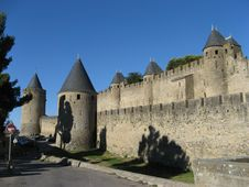 Free Fortress Of Carcassonne Stock Photo - 19409360