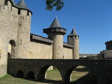 Free Fortress Of Carcassonne Stock Images - 19409364