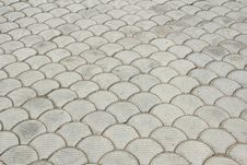 Free Paving Bricks Royalty Free Stock Photos - 19409528