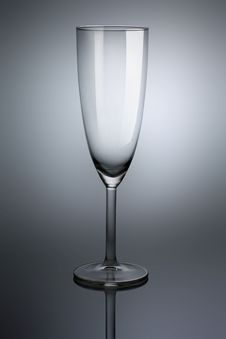 Free Empty Glass Goblet Royalty Free Stock Photos - 19409588