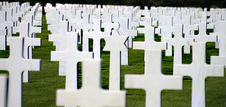 Free Soldier Cemetery In Normandy Stock Photo - 19409590