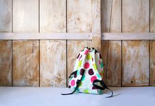 Free Colored Backpack Royalty Free Stock Images - 19409639