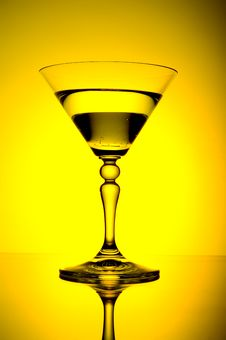 Glass With Alcohol Royalty Free Stock Photography