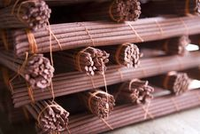 Tibetan Incense. Royalty Free Stock Photos