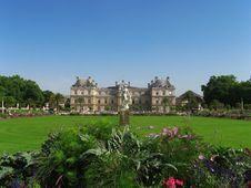 Free Luxembourg Palace Royalty Free Stock Photo - 19411195