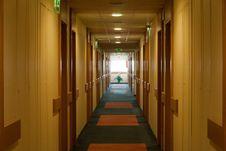Free Corridor In The Hotel Stock Photos - 19411363