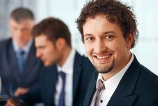 Free Young Businessman Stock Photo - 19411510