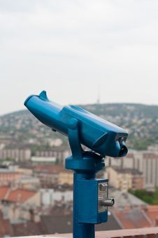 Free Tourist Pay Binoculars Stock Image - 19412731