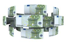 Euro In Circulation Of Money Stock Images