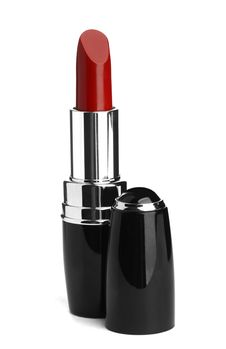 Red Lipstick Isolated On White Royalty Free Stock Image