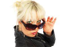 Free Sunglasses Woman. Royalty Free Stock Image - 19415036