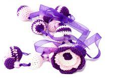 Free Crochet Jewelry Royalty Free Stock Photos - 19415148