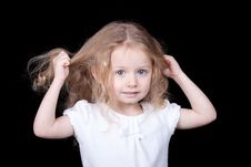 Free Pulling Out My Hair Royalty Free Stock Photos - 19415208