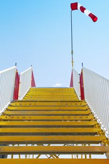 Free Stairway_windsock Royalty Free Stock Image - 19416396