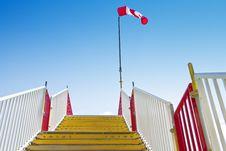 Free Stairway_windsock Stock Image - 19416411