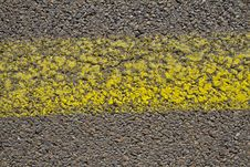 Free Yellow Line Stock Photo - 19416450