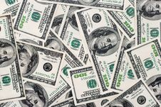Free American Dollars Background Stock Image - 19417071