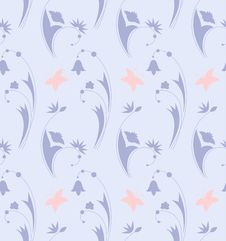 Free Floral Seamless. Royalty Free Stock Photo - 19418515
