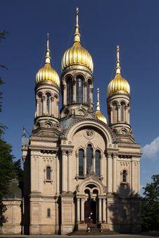 Free St. Elizabeth S Church In Wiesbaden Stock Images - 19419244